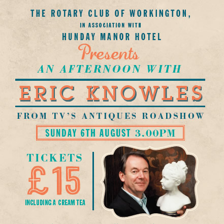 An afternoon with Eric Knowles