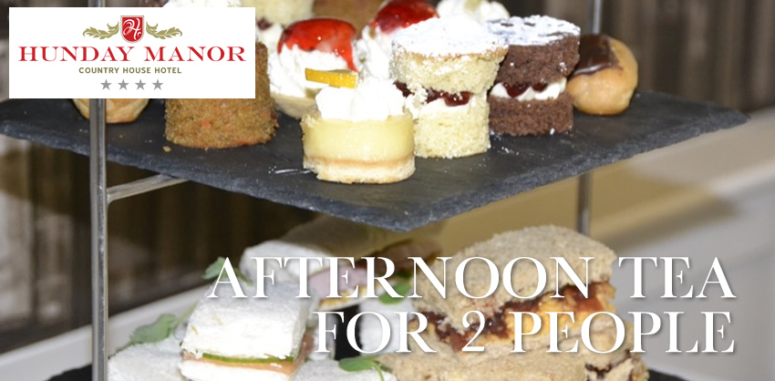Afternoon Tea for 2