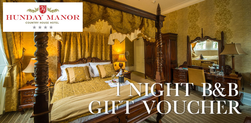 1 Night B&B Gift Voucher